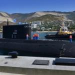 """Освящение новой подводной лодки """"Новороссийск"""""""