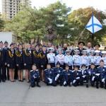 Кадетская присяга 4-го «морского класса» СОШ №19 станицы Марьинской