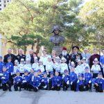 Посвящение в кадеты 1- го «А» класса СОШ№2.