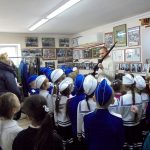 Кадетские классы посетили Кадетский центр.
