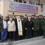 Встреча с воинами в Геленджикском Кадетском центре.