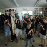 Дети каратисты посетили Кадетский центр.
