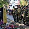 Воины посетили храм, 20.10.2019.